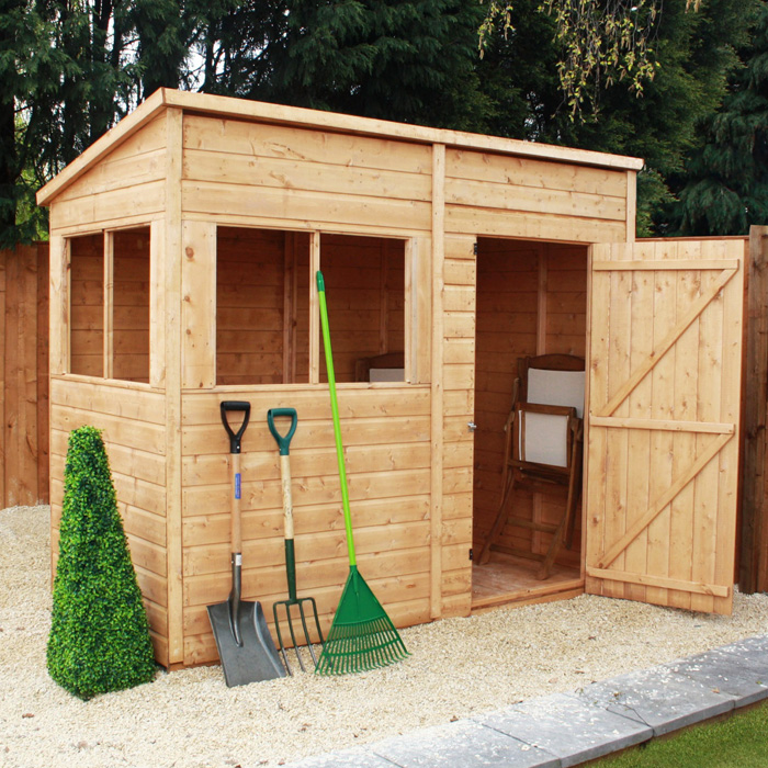 View all 8x4 sheds
