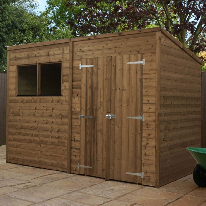 View all 10x7 sheds