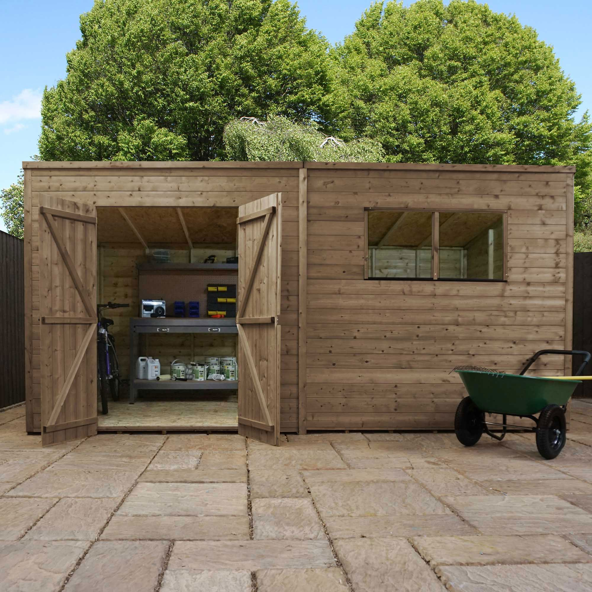 View all 14x7 sheds